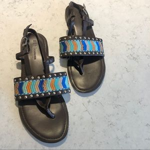 BCBGeneration Cazady Aztec Sandals